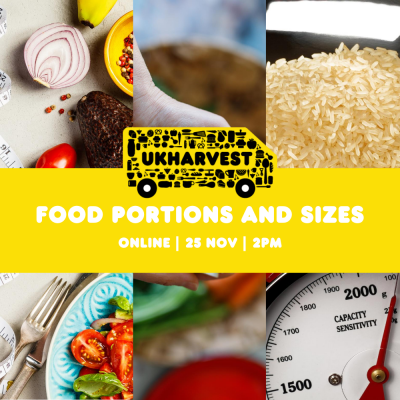Food Portions and Sizes  - Zoom Session