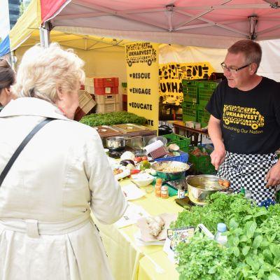 UKHarvest Stall at East Street Shoreham